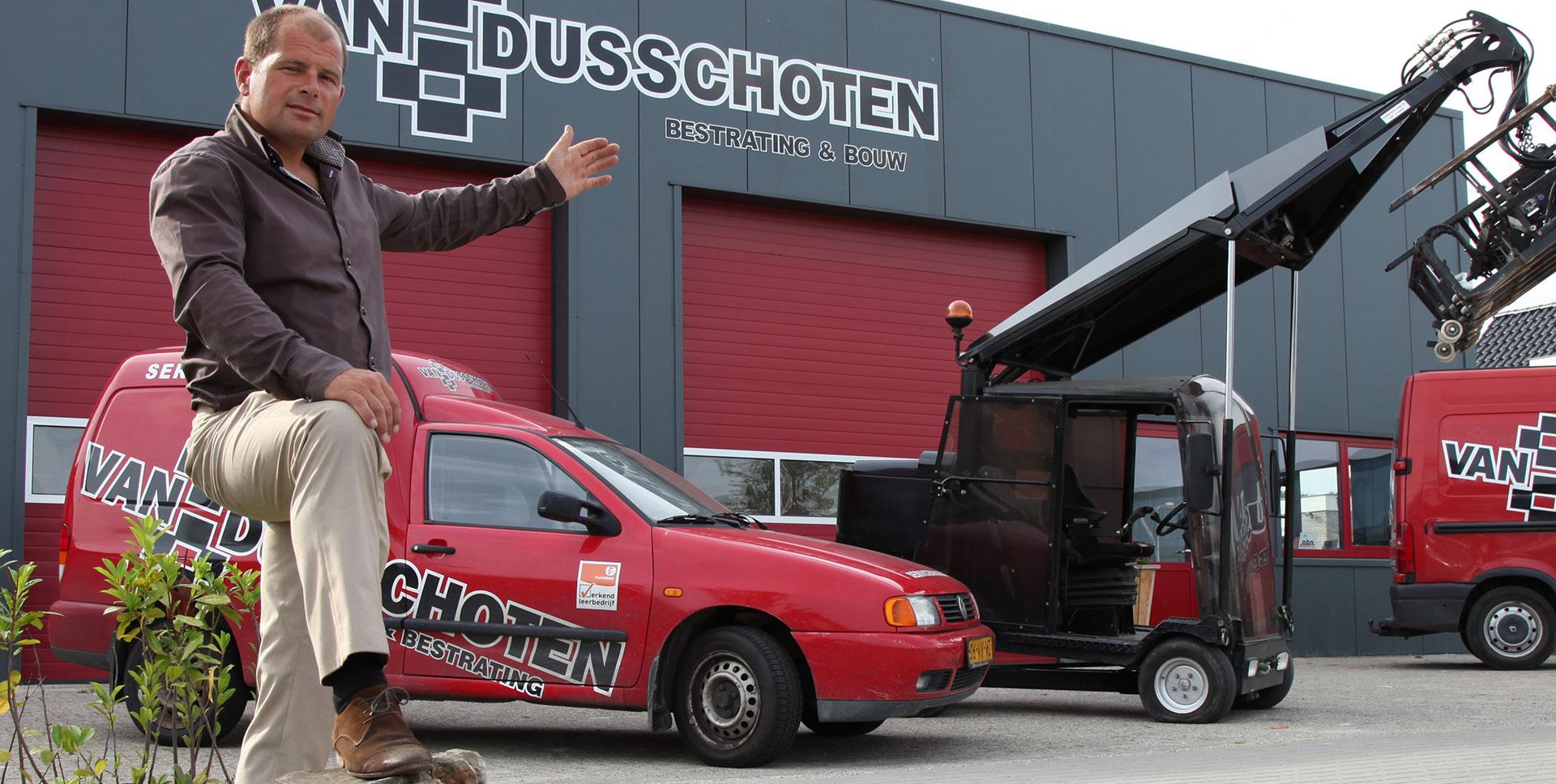 Welkom bij Van Dusschoten Bestrating & Bouw